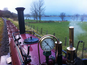 Footplate view