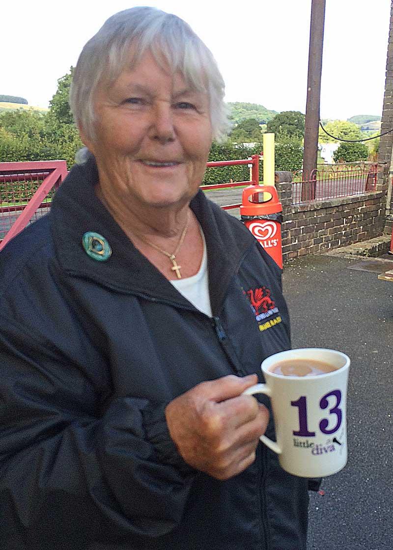 Volunteer Barbara Cooper