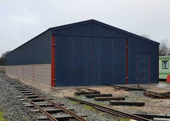 New Carriage Shed
