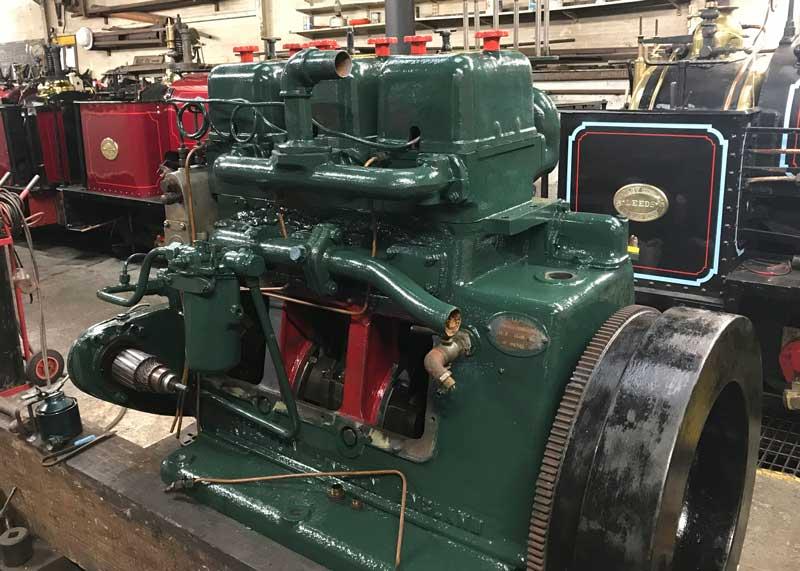 Chilmark engine rebuild