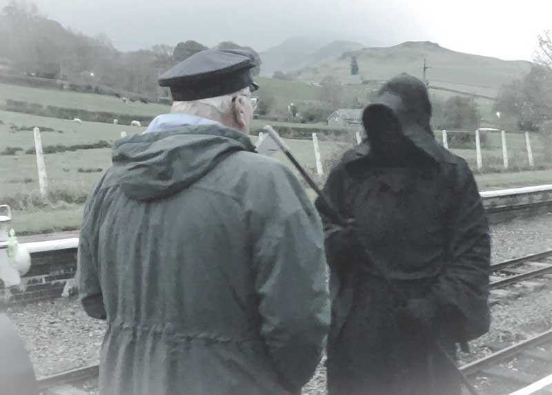 The Grim Reaper appears at Llanuwchllyn
