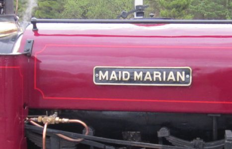 Maid Marian, Hunslet works no. 822