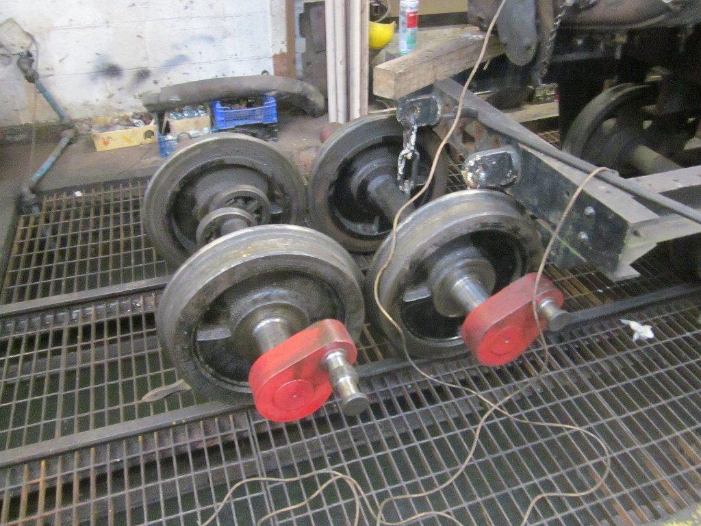 Loco wheelsets