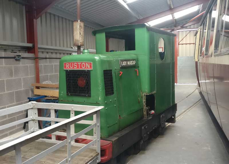 New interpretation centre/carriage shed