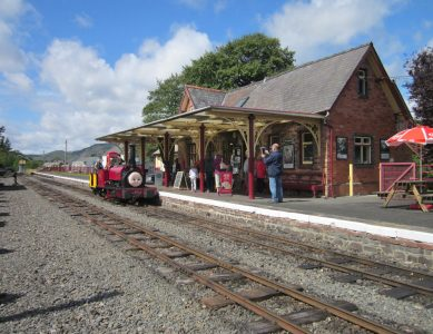 "A Day with ""Alice the Little Welsh Engine"""