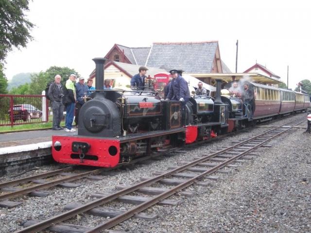 Hugh Napier, Gwynedd and Winifred on a tripple header