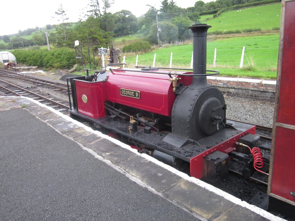 George B at Llanuwchllyn
