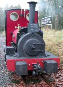 Maid Marian on an Inside Track Special Train
