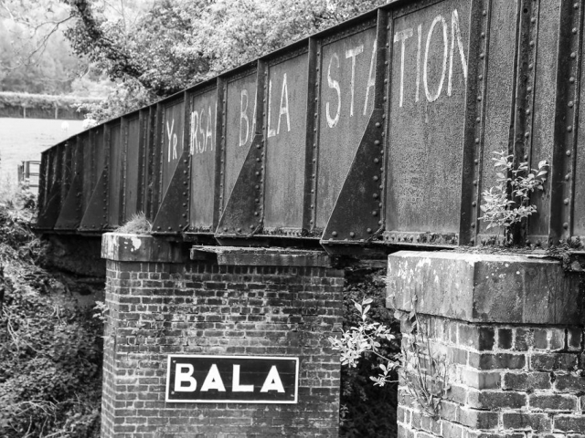 Bala Pen-Y-Bont station bridge