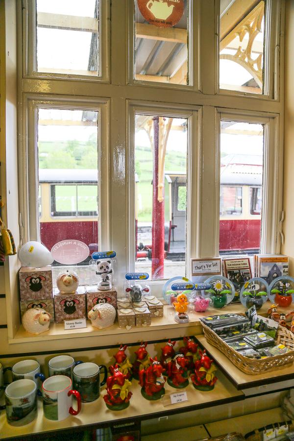 Llanuwchllyn station shop