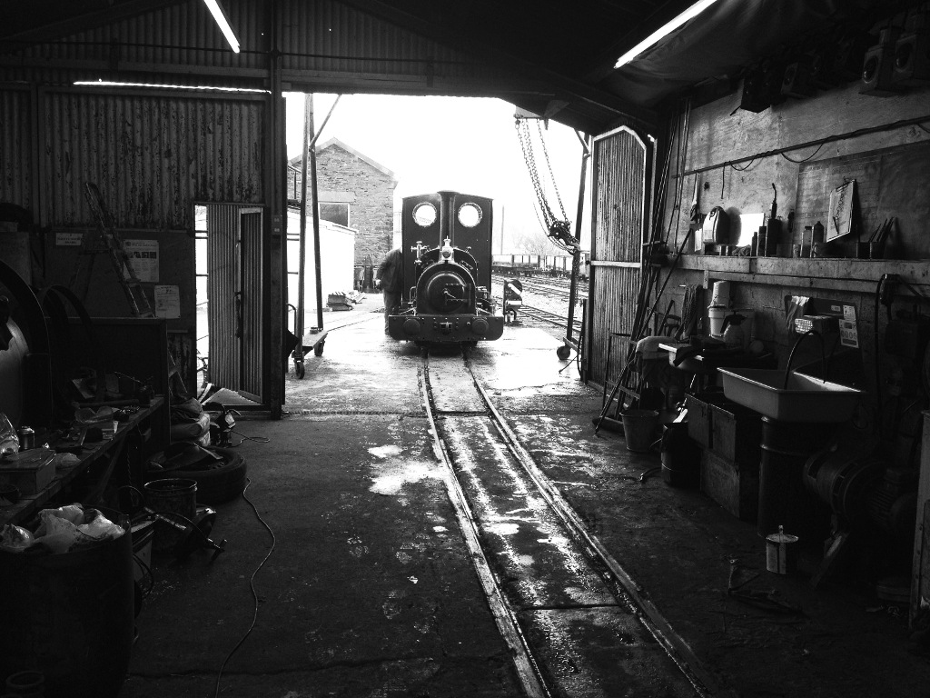 Preparing the loco