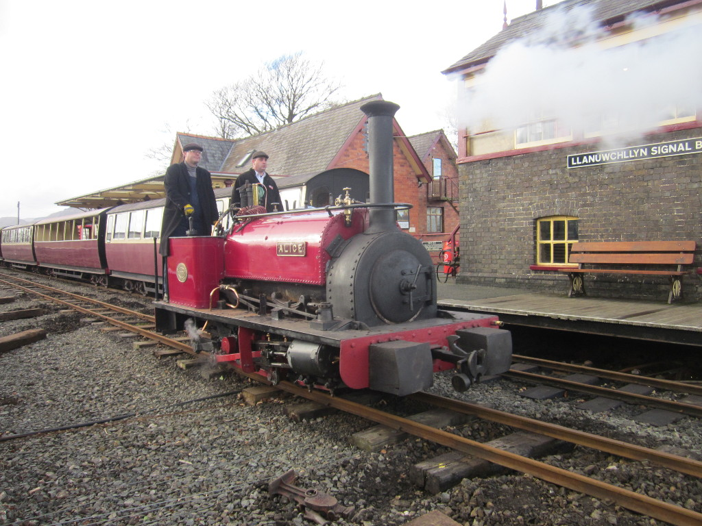 Alice on the first running day of the season, 17th Feb 2019