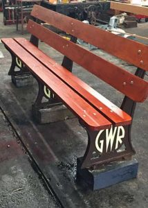 New GWR bench - Built in a day
