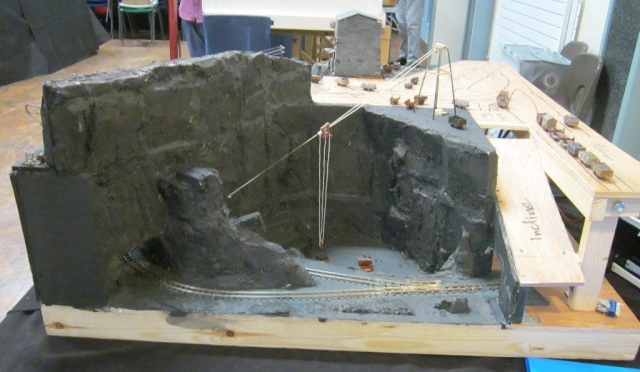 Chwarel Cwm Bach 2.0 - Unfinished pit section