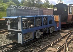 New diesel locomotive John Murphy