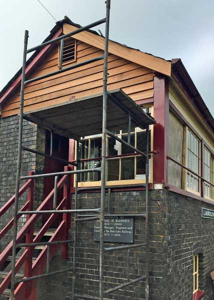 Llanuwchllyn Signal Box refurbishment