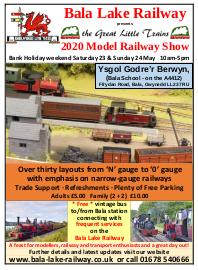 Model Show Flyer