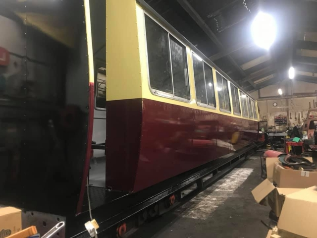 2020 coach rebuild underway