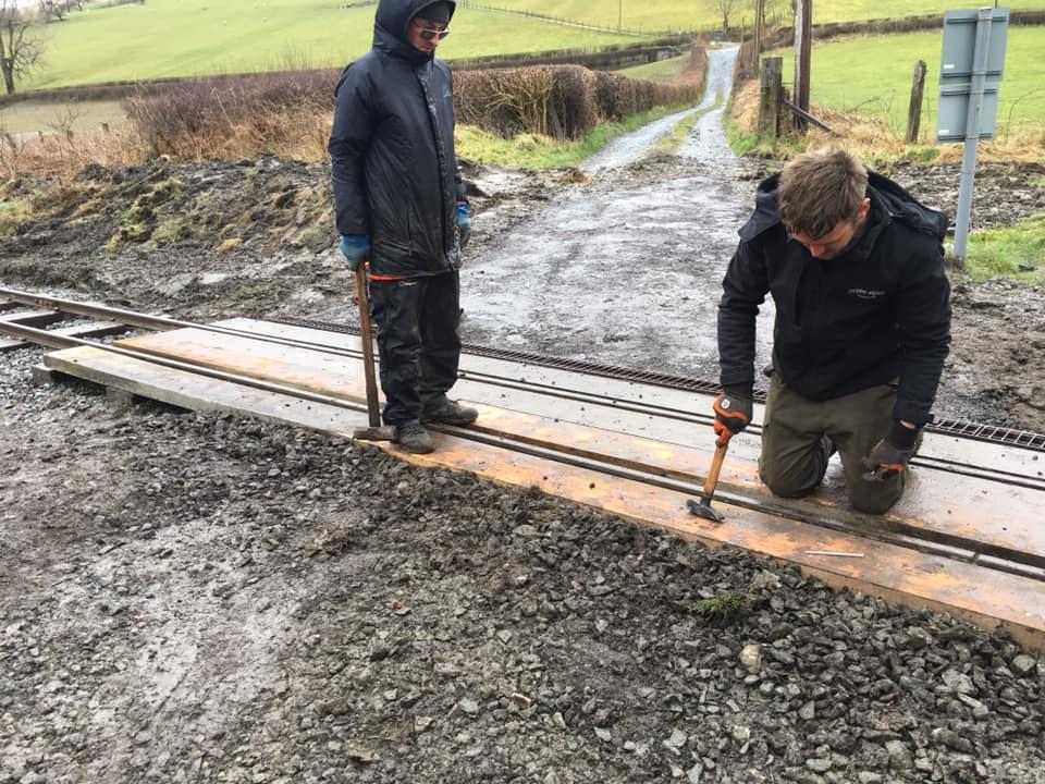 Working weekend - Dolfawr Bank Level Crossing