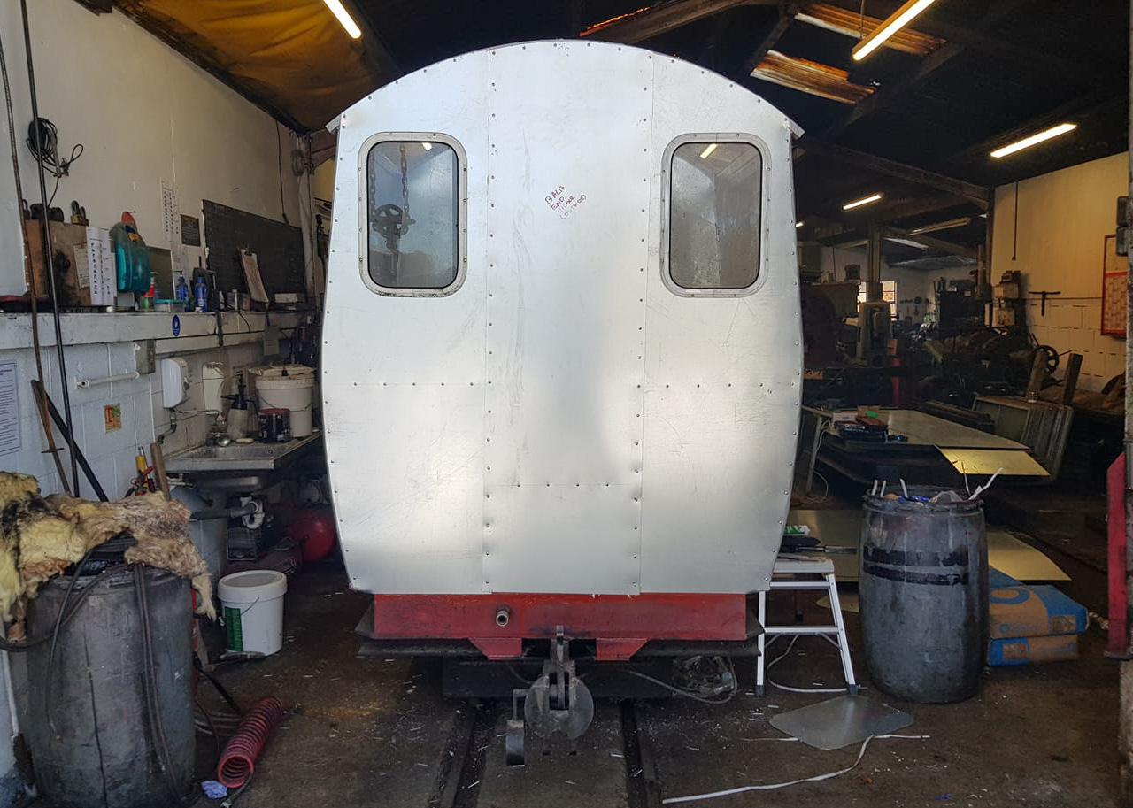 Carriage 8 Rebuild - January 2021