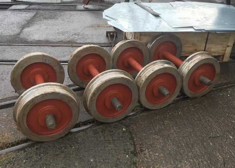 New Wheelsets at Llaunuwchllyn