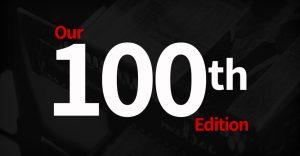 100th Edition logo