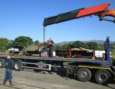 Press Release: Arrival of 'Dorothy' at Bala Lake Railway