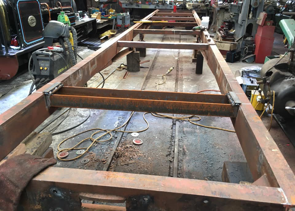 New coach chassis takes shape