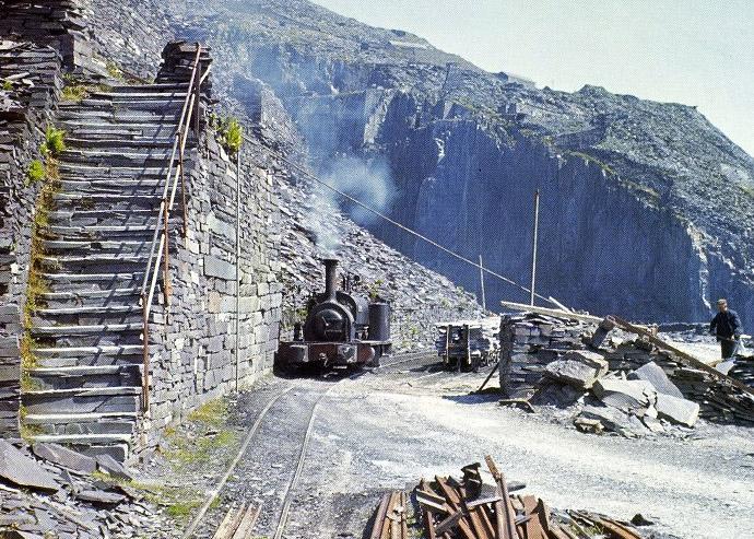 Holy Way in Dinorwic Quarry